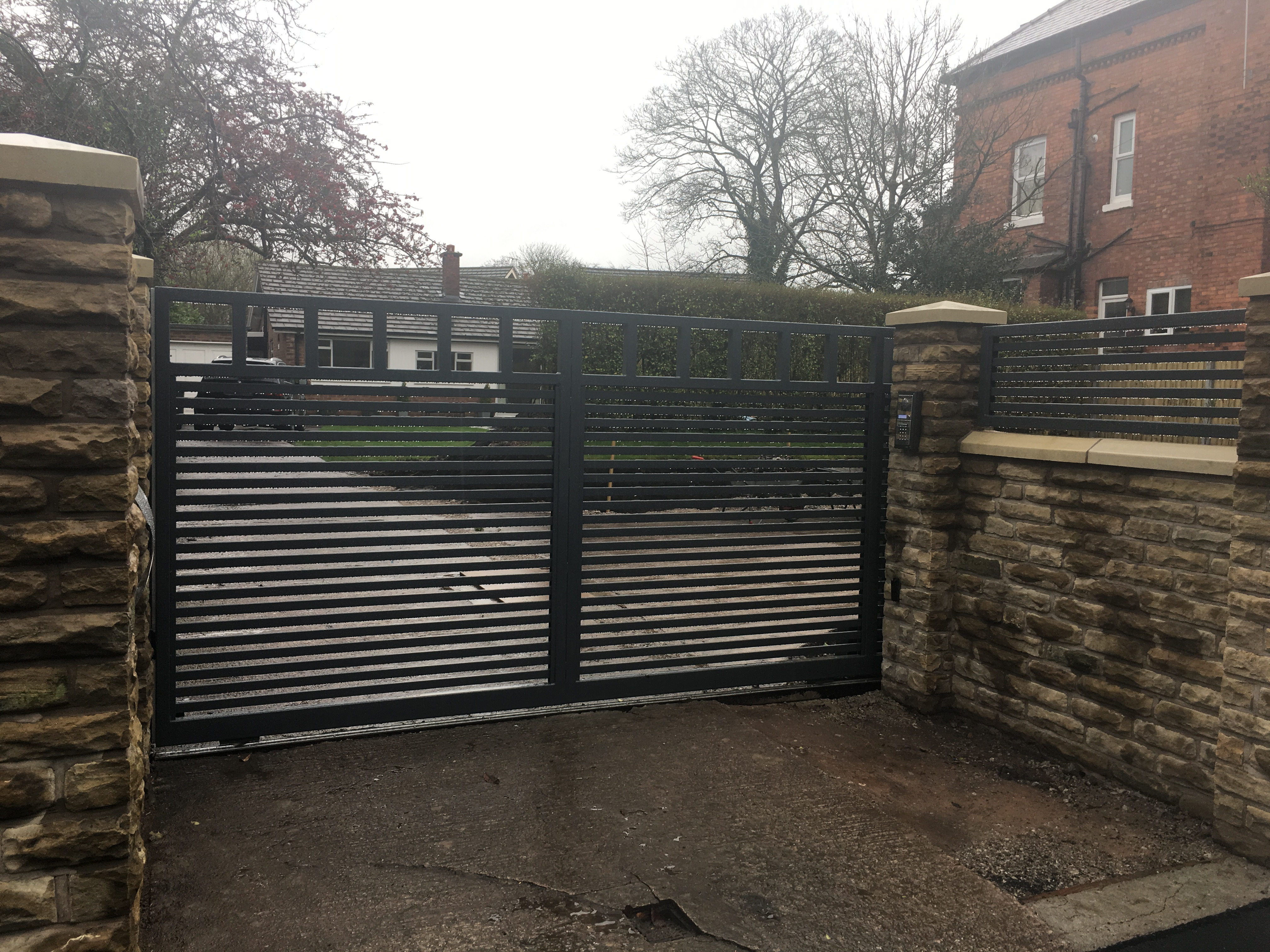 The Security Benefits of a Gate