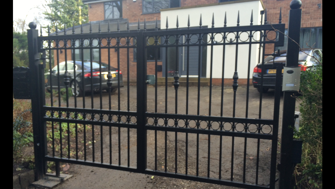 Gates in Knutsford