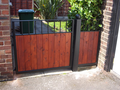 Timber And Steel Gates Wooden And Steel Gates