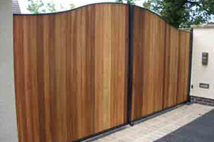 Timber & Steel Gates