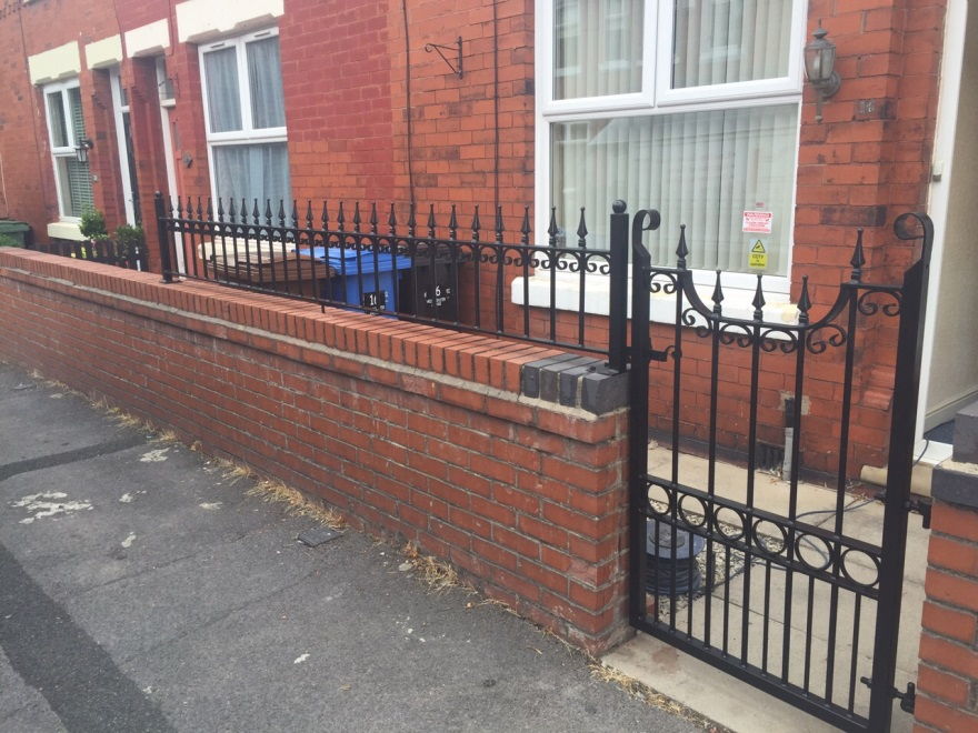 Out and About   Railings Stockport