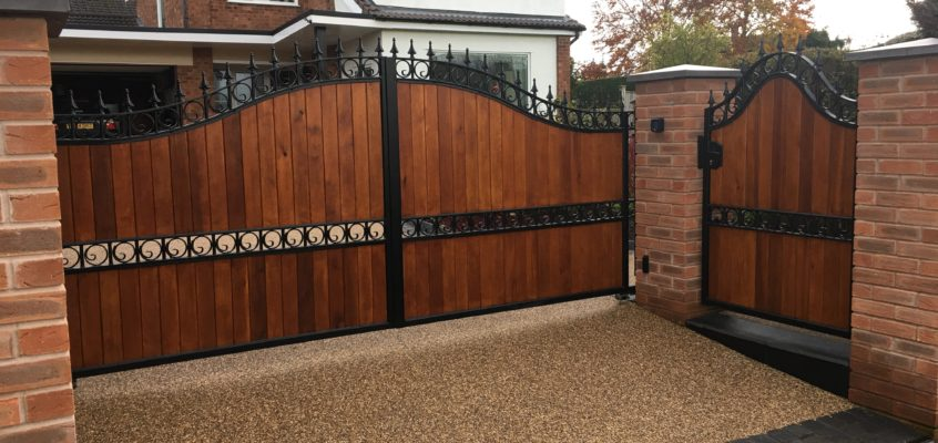 The Aesthetic Benefits of a Gate