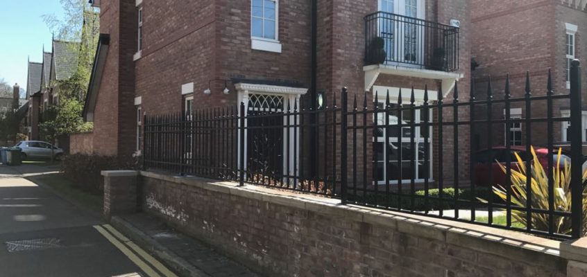 The History of Wrought Iron Railings
